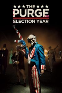 "Poster for the movie ""The Purge: Election Year"""