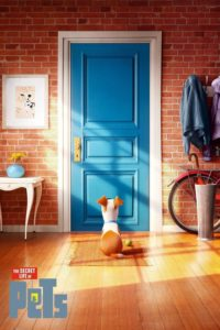 "Poster for the movie ""The Secret Life of Pets"""