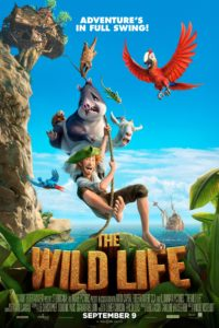 "Poster for the movie ""The Wild Life"""