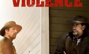 "Poster for the movie ""In a Valley of Violence"""