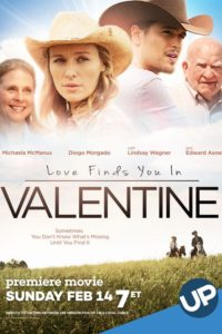 "Poster for the movie ""Love Finds You in Valentine"""