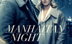 "Poster for the movie ""Manhattan Night"""