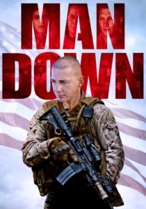 "Poster for the movie ""Man Down"""