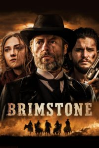 "Poster for the movie ""Brimstone"""