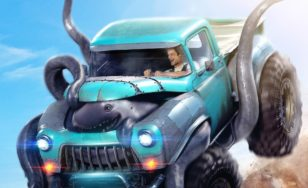 "Poster for the movie ""Monster Trucks"""