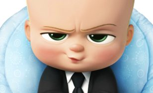 "Poster for the movie ""The Boss Baby"""