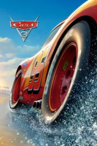 "Poster for the movie ""Cars 3"""