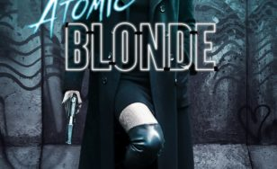 "Poster for the movie ""Atomic Blonde"""
