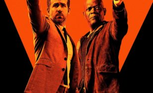 "Poster for the movie ""The Hitman's Bodyguard"""