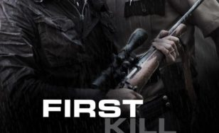 "Poster for the movie ""First Kill"""