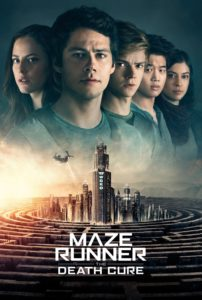 "Poster for the movie ""Maze Runner: The Death Cure"""