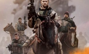 "Poster for the movie ""12 Strong"""