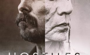 "Poster for the movie ""Hostiles"""