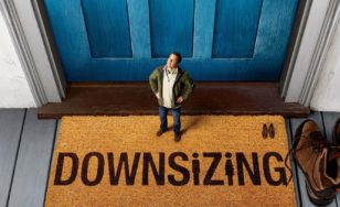 "Poster for the movie ""Downsizing"""