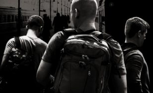 """Poster for the movie """"The 15:17 to Paris"""""""