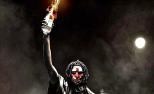 "Poster for the movie ""The First Purge"""