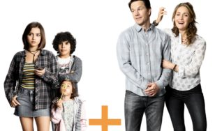 "Poster for the movie ""Instant Family"""