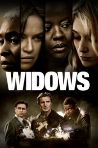 "Poster for the movie ""Widows"""
