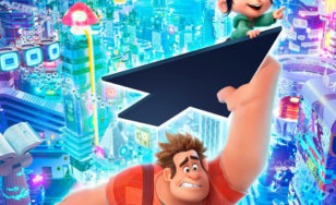 "Poster for the movie ""Ralph Breaks the Internet"""