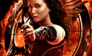 "Poster for the movie ""The Hunger Games: Catching Fire"""