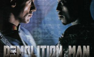 """Poster for the movie """"Demolition Man"""""""