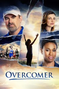 """Poster for the movie """"Overcomer"""""""