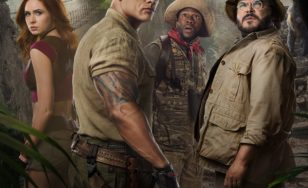 """Poster for the movie """"Jumanji: The Next Level"""""""