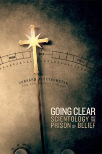 "Poster for the movie ""Going Clear: Scientology and the Prison of Belief"""