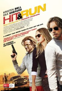 """Poster for the movie """"Hit & Run"""""""