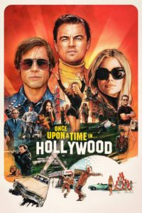 "Poster for the movie ""Once Upon a Time… in Hollywood"""