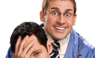 "Poster for the movie ""Dinner for Schmucks"""