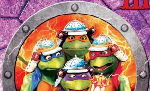 "Poster for the movie ""Teenage Mutant Ninja Turtles III"""