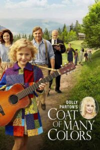 """Poster for the movie """"Dolly Parton's Coat of Many Colors"""""""