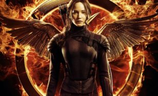 "Poster for the movie ""The Hunger Games: Mockingjay - Part 1"""