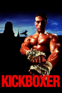 """Poster for the movie """"Kickboxer"""""""