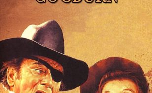"Poster for the movie ""Rooster Cogburn"""