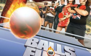 "Poster for the movie ""Balls of Fury"""