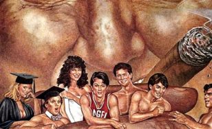 """Poster for the movie """"Porky's 3: Revenge"""""""