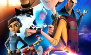 "Poster for the movie ""Spies in Disguise"""