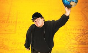 "Poster for the movie ""Bowling for Columbine"""