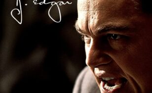 "Poster for the movie ""J. Edgar"""