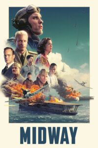 "Poster for the movie ""Midway"""