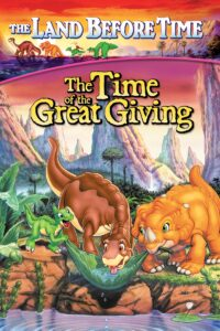 """Poster for the movie """"The Land Before Time III: The Time of the Great Giving"""""""