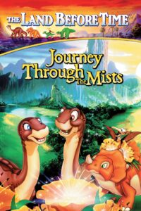 """Poster for the movie """"The Land Before Time IV: Journey Through the Mists"""""""