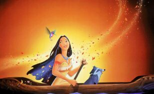 """Poster for the movie """"Pocahontas"""""""