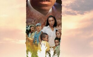 "Poster for the movie ""Hotel Rwanda"""