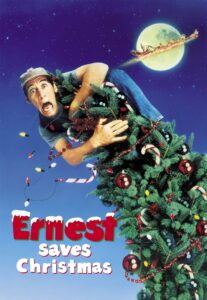 "Poster for the movie ""Ernest Saves Christmas"""