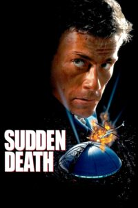 "Poster for the movie ""Sudden Death"""