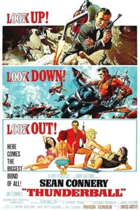 """Poster for the movie """"Thunderball"""""""