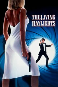 "Poster for the movie ""The Living Daylights"""